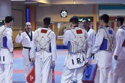 اردوی تیم ملی تکواندو مردان کشورمان به پایان رسید