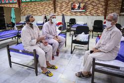 نقاهتگاه بیماران بهبود یافته کرونا در بیمارستان بقیه الله