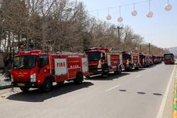 مشہد مقدس کے مختلف محلوں میں اسپرے کی مہم کا سلسلہ جاری