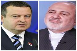 Iranian, Serbian FMs discuss coronavirus over phone