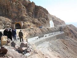 پیشرفت ۸۵ درصدی طرح چهارخطه کردن گردنه صلوات آباد سنندج