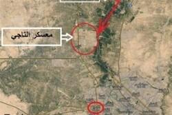 حمله راکتی به پایگاه نظامی آمریکا در شمال بغداد