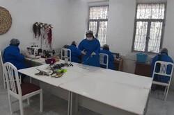 همکاری زنان سرپرست خانوار استان بوشهر با کادر درمانی