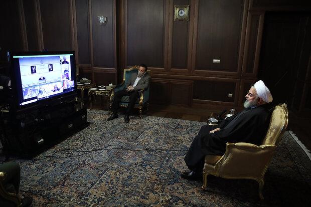 Rouhani hails Leader's order to establish special HQ for fighting coronavirus