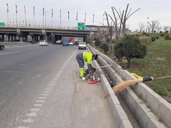 هیچ یک از ۱۵ هزار پاکبان تهرانی به کرونا مبتلا نشده اند