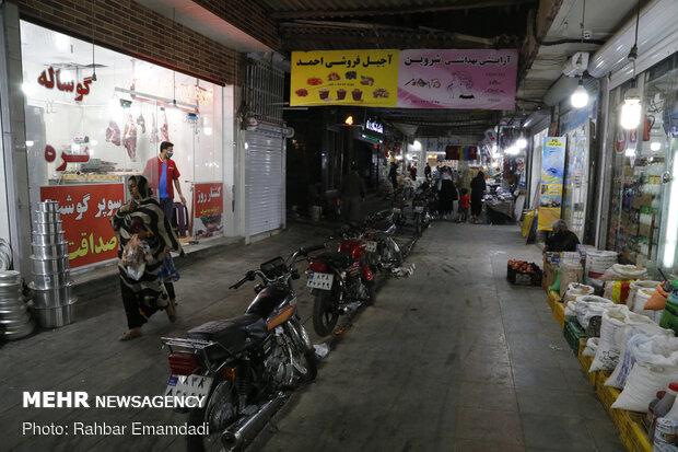 Bandar Abbas bazaar empty of crowds amid coronavirus