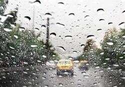 بارش باران و احتمال جاری شدن سیل در خراسان شمالی