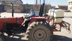 سهمیه سوخت تراکتورها و کمباینهای فاقد پلاک در یزد قطع میشود