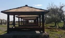 پیشرفت ۷۵ درصدی پروژه محوطه سازی کمپ گردشگری آغ کهریز