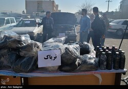 Police seize 318 kg of illicit drugs in Yazd
