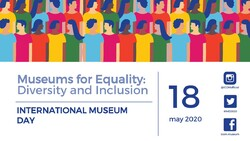 A poster for the 2020 International Museum Day