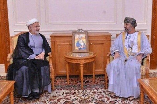 Iran, Oman discuss parliamentary ties