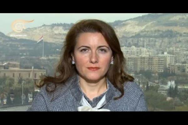 """ماريا سعادة ل""""مهر"""": مثلث الصمود السوري كسر الأطماع الغربية الإستعمارية"""