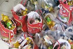 ۱۰۰ بسته کمک معیشتی در شهرستان لنگرود توزیع شد