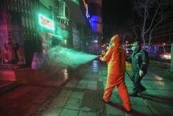 لامرد میں اسپرے کی مہم جاری