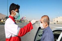 غربالگری بیش از ۲۰۵ هزار نفر در ورودی شهرهای سیستان و بلوچستان