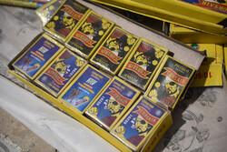 ۱۵ هزار عدد انواع مواد محترقه در چالوس کشف شد