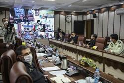 Tehran Police Headquarters holds meeting