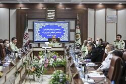 گردهمایی فرماندهی انتظامی تهران