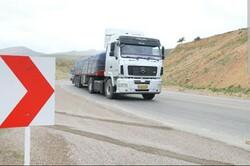 ۱۱ میلیون تن کالا در سطح استان سمنان جابجا شد