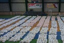 تهیه ۵۰۰ بسته معیشتی برای کمک به نیازمندان در بندرعباس