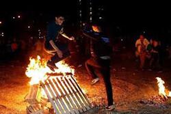آمار مصدومان حوادث چهارشنبه سوری افزایش یافت