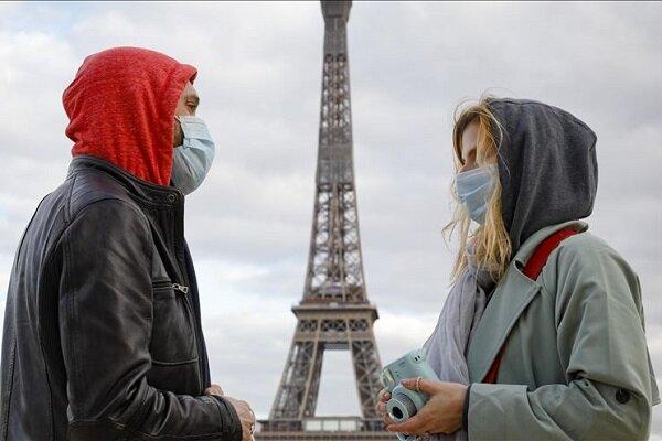 ۵۸۸ مرگ و میر جدید براثر ابتلا به کرونا در فرانسه