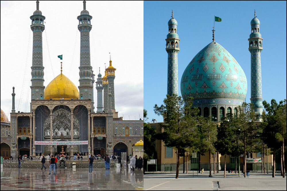 دربهای حرم حضرت معصومه(س) و مسجد جمکران بسته شد - خبرگزاری مهر | اخبار ایران و جهان | Mehr News Agency