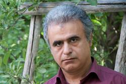 Land artist Ahmad Nadalian