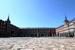 VIDEO: Aerial footage depicts almost empty streets of Madrid amid outbreak