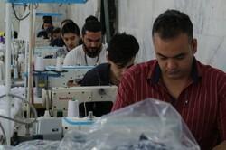 تعاونی های مازندران یک میلیون دستکش تولید کردند