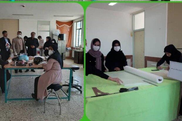 ورود فرهنگیان برای تولید ماسک/هنرستان ها کارگاه تولیدی شدند