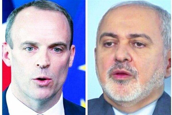 ظريف يدعو لندن الى عدم مسايرة واشنطن في حظرها ضد طهران