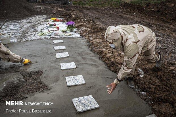 دفن الاموات في ايران