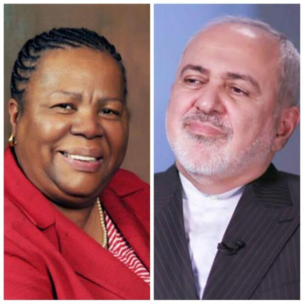 Iranian, South African FMs discuss COVID-19 outbreak over phone
