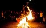 آتش افروزی در چهارشنبه سوری جشن بود نه محنت