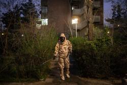 ضدعفونی ساختمان های مسکونی غرب تهران