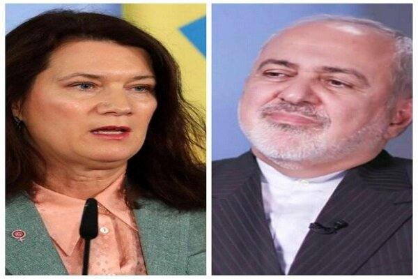 Iranian, Swedish FMs discuss coronavirus outbreak over phone