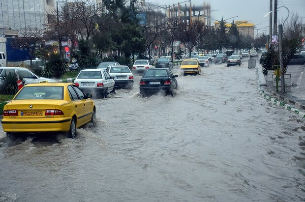 ورود سامانه جدید بارشی به کرمانشاه/ هشدار آبگرفتگی معابر