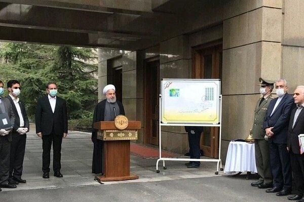 روحاني: العدو فشل في إركاع الشعب الايراني عبر الضغوطات الإقتصادية