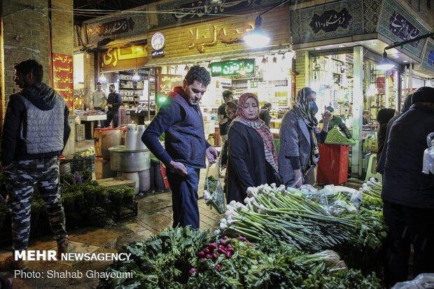 Tajrish Bazaar on eve of Nowruz