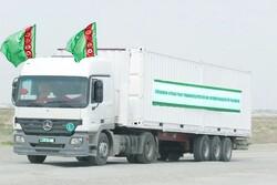 Turkmenistan sends humanitarian aid to neighboring Iran