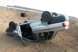 واژگونی پراید در محور اراک- توره ۲ تن را به کام مرگ فرستاد