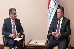 دیدار سفیر کویت در عراق با «عدنان الزرفی»
