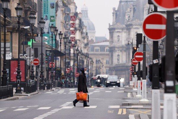 توقعات تشير الى تضاؤل الناتج المحلي الفرنسي بسبب كورونا