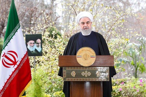 روحاني: تم تخصيص 20 في المئة من ميزانية البلاد لمواجهة كورونا