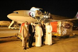 Qatar delivers 2nd consignment to Iran to fight coronavirus