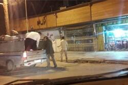 رشت میں عوامی مقامات پر اسپرے کی مہم جاری