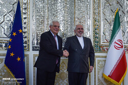 Zarif, EU's Borrel
