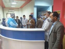 خداقوت نماینده ولیفقیه در لرستان به پرسنل بیمارستان شهدای عشایر